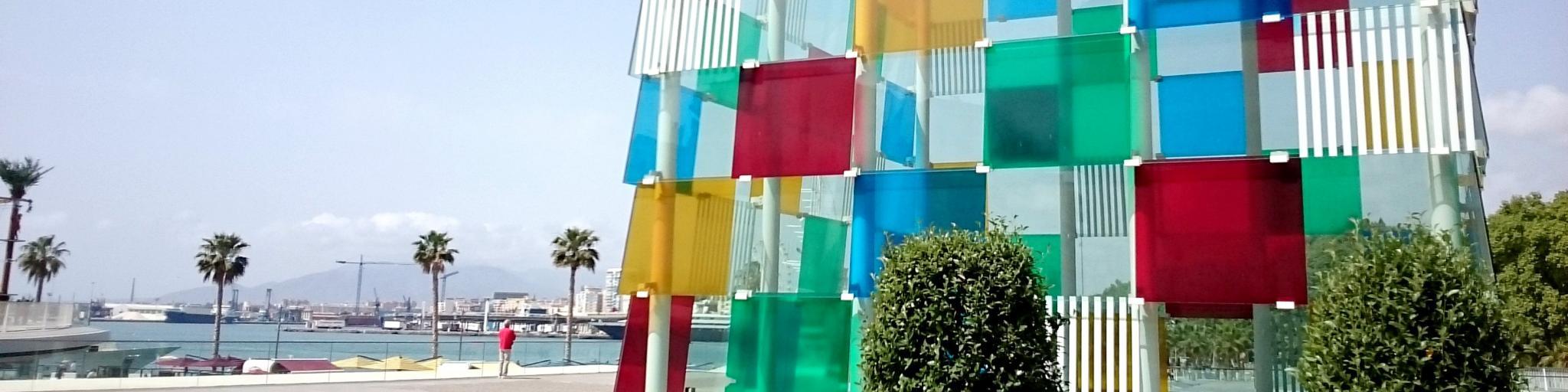 Centre Pompidou, Malaga, Spain