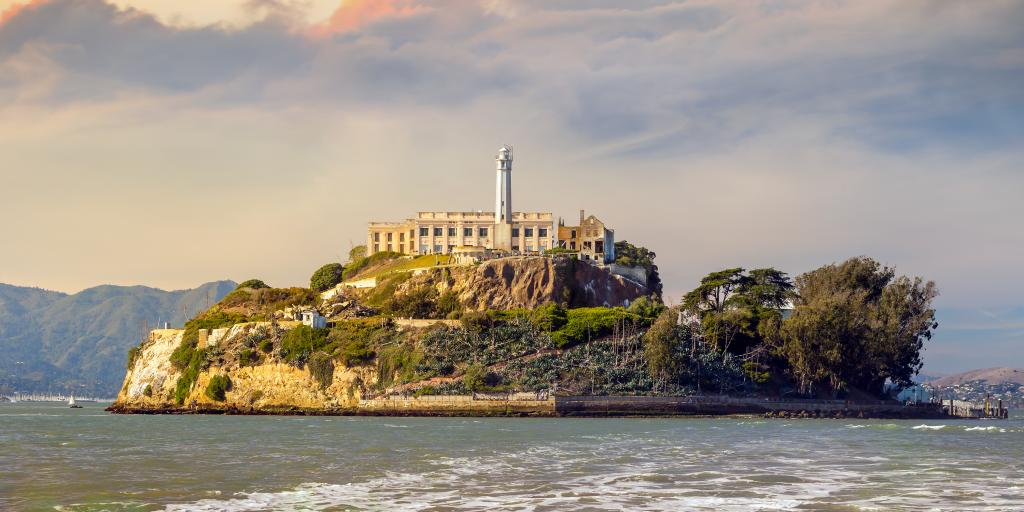 Alcatraz Island National Park in San Francisco, California