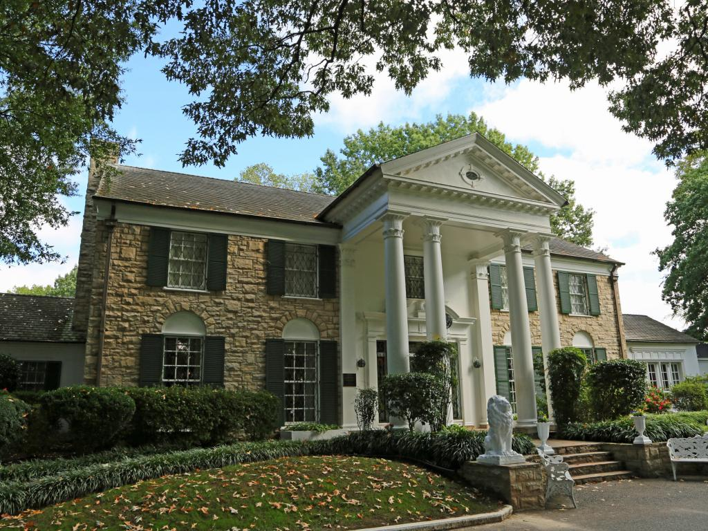 Graceland building in Memphis, Tennessee