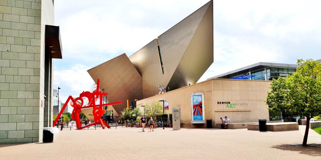 Denver Art Museum (DAM) in the Civic Center's Hamilton Building