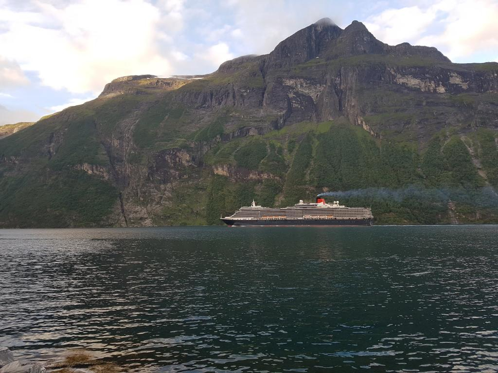 Queen Victoria cruise, Norway