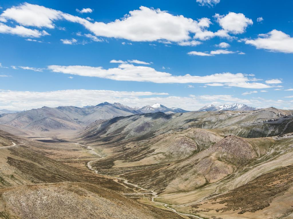 The Tanglang La pass in India is easily accessible and is one of the highest roads in the world.