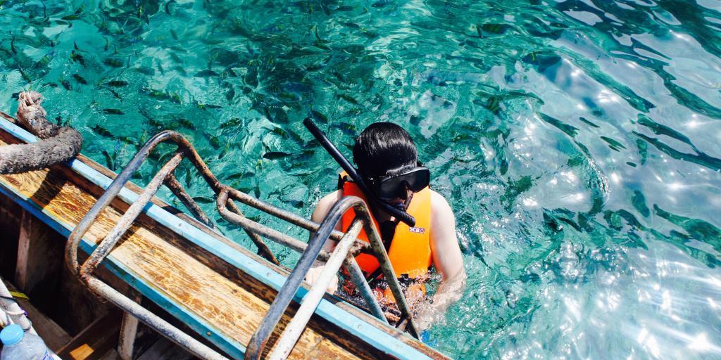 Snorkelling, Thailand