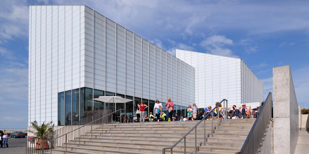 The modern outside of the Turner Contemporary, Margate