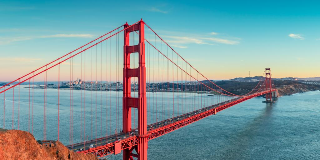 Best time to go to San Francisco to see the Golden Gate Bridge and explore the city