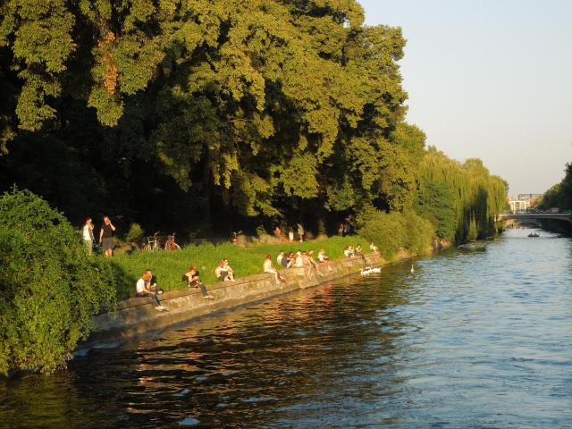Landwehr Canal, Berlin, Germany