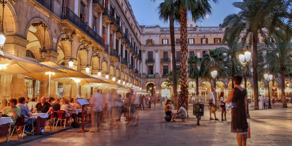 Placa Reial in Barcelona's Gothic Quarter