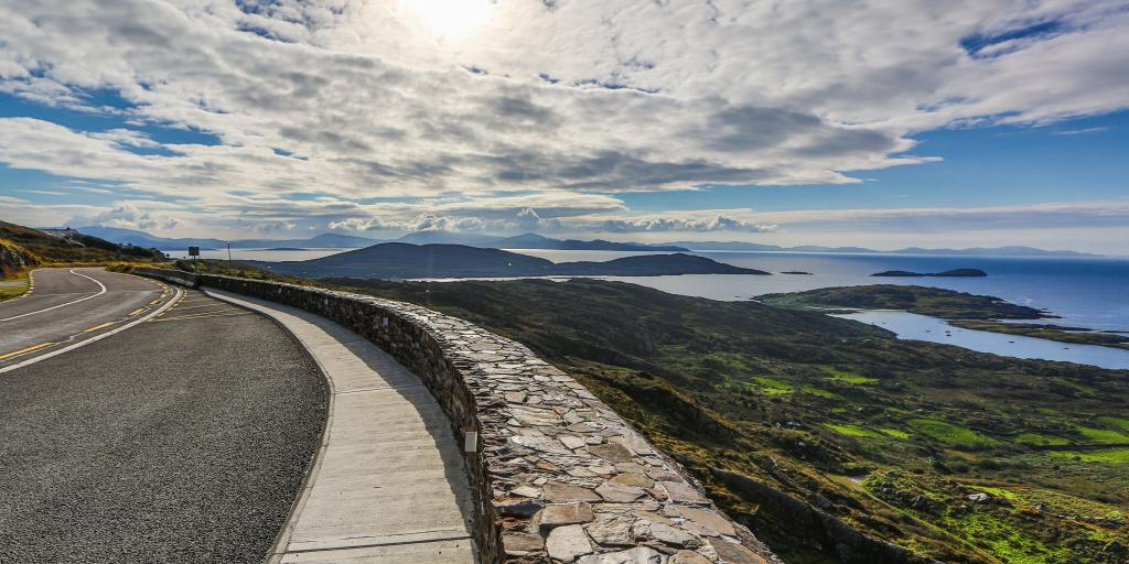 Viewpoint on the Ring of Kerry, Ireland
