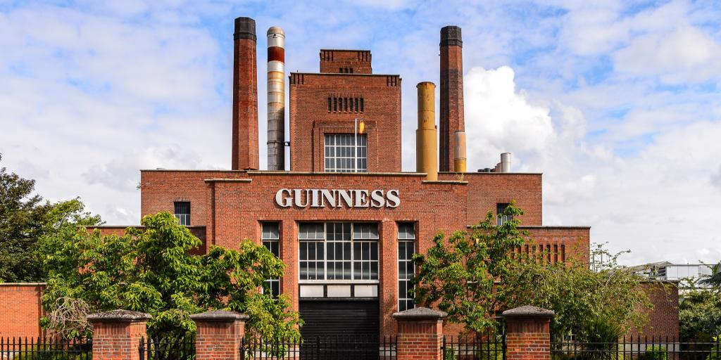 The Guinness Brewery in Dublin, Ireland
