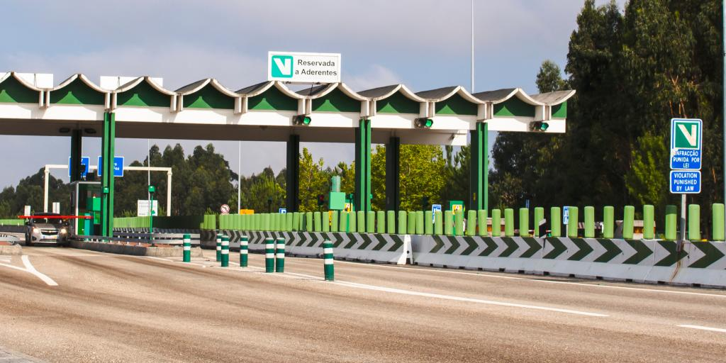 A toll in Portugal