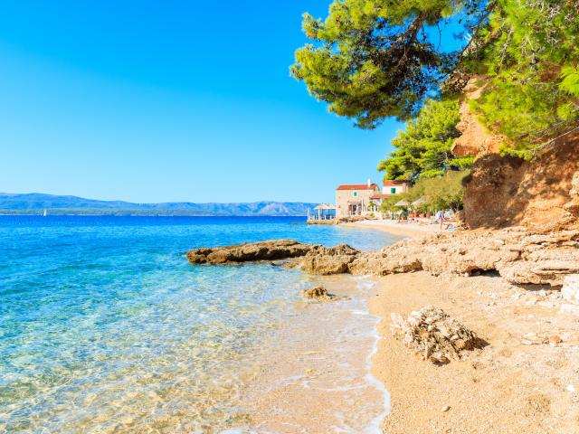 The best time to visit Croatia is when the sun is shining.