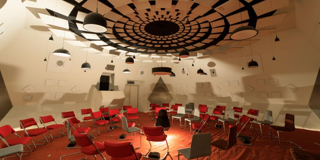 The Audium experience in San Francisco with sound sculptures played on 176 speakers