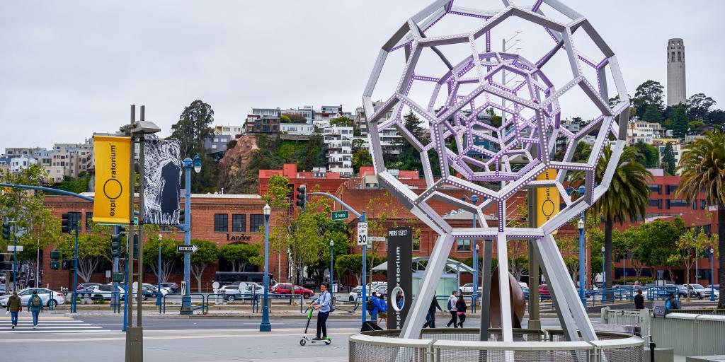 Exploratorium Museum of Interactive Science in San Francisco