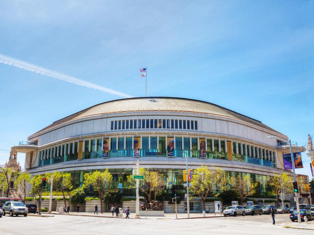 San Francisco Symphony Hall - part of the San Francisco War Memorial and Performing Arts Center