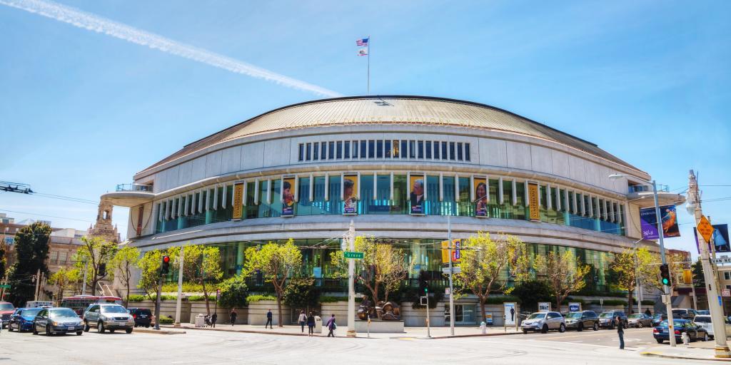 San Francisco Symphony Hall - part of the San Francisco War Memorial and Performing Arts Center