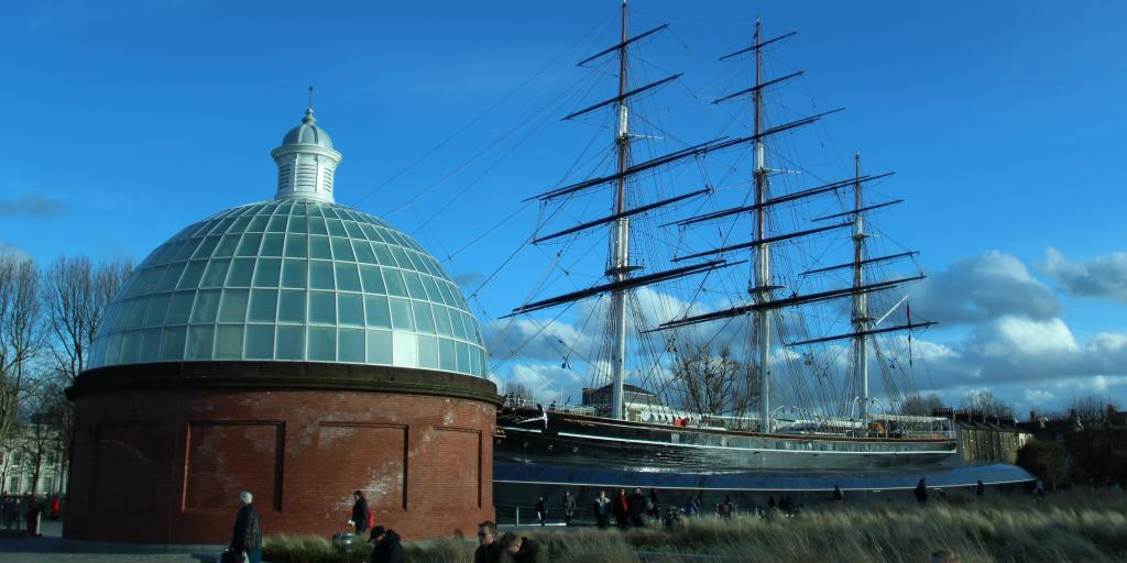 The Cutty Sark ship is the most recognisable landmark in the southeast London borough of Greenwich