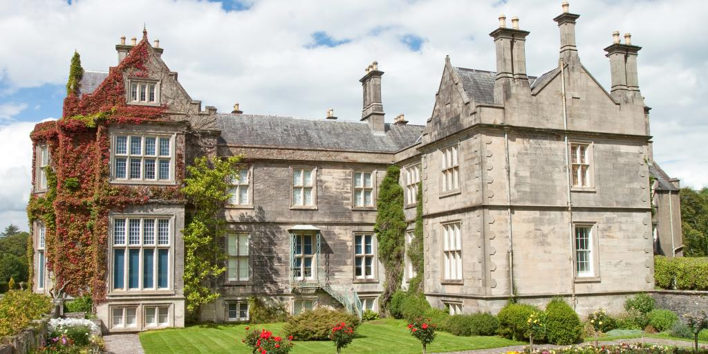 The outside of Muckross House, Killarney