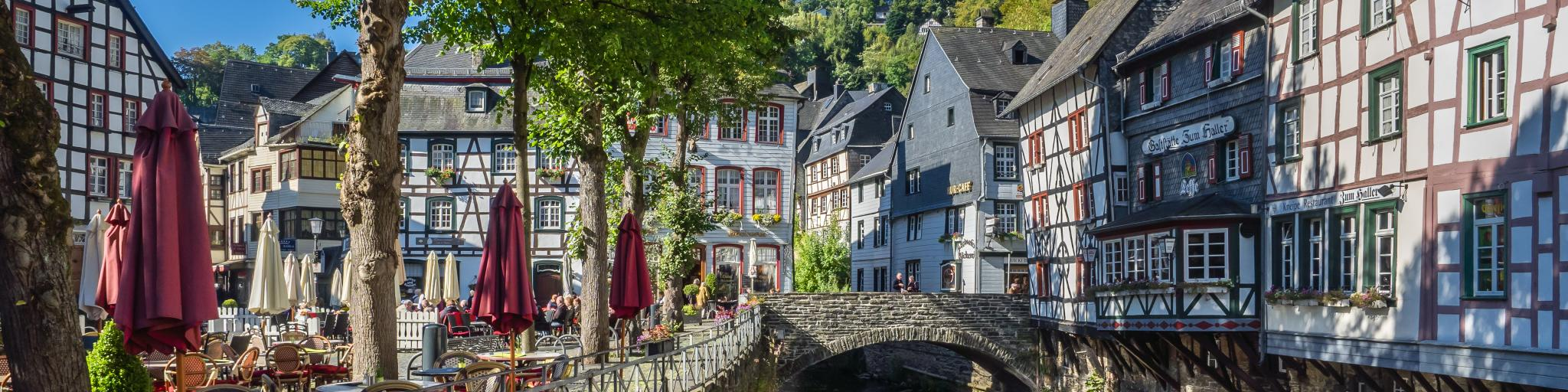 River in Monschau, Germany
