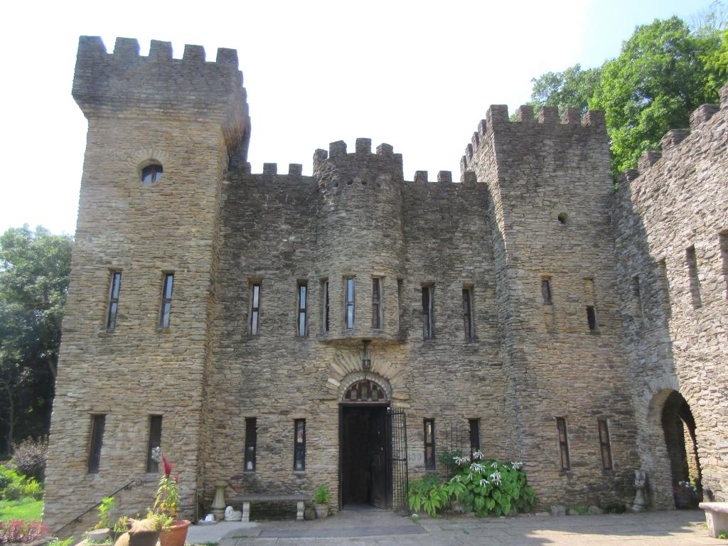 Loveland Castle on the banks of the Little Miami River is a great short day trip from Cincinnati
