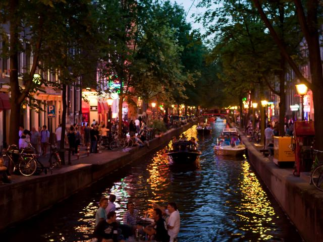Red Light District, Amsterdam, The Netherlands