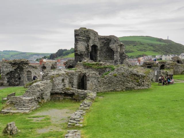 Aberystwyth Castle, Aberystwyth, Wales