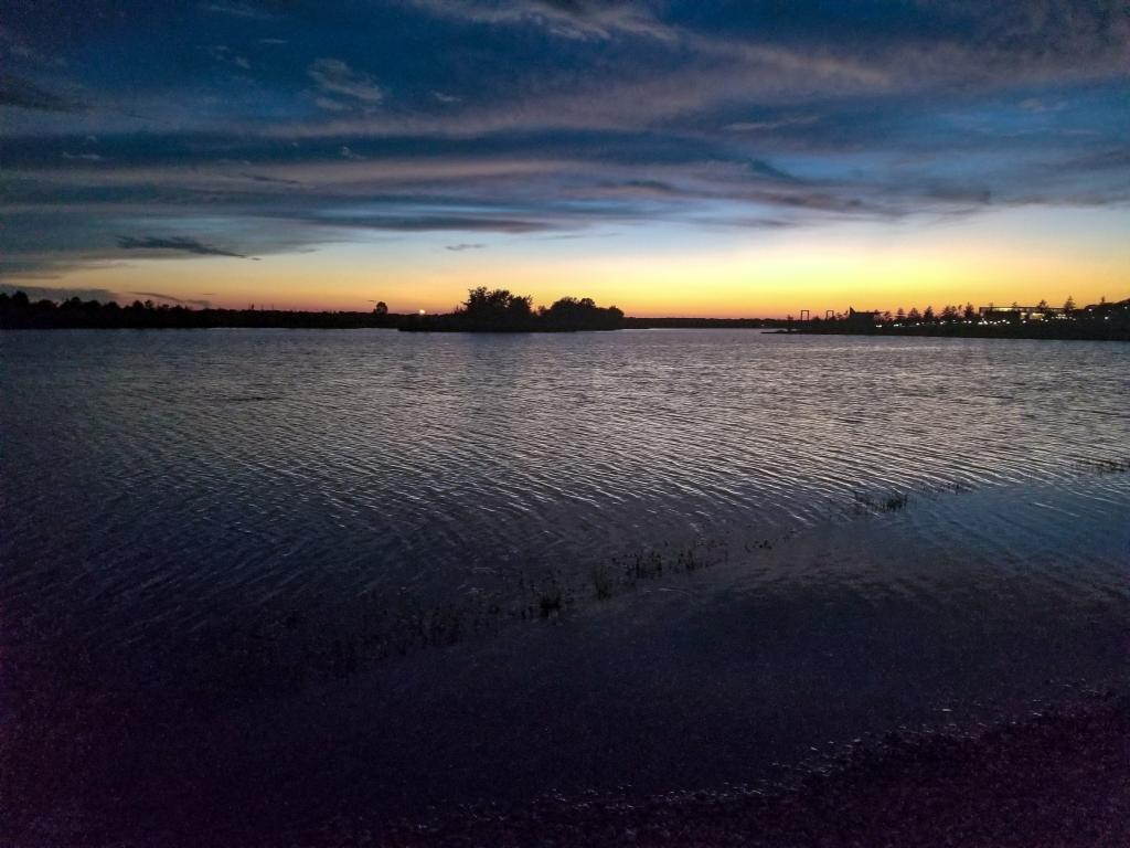 Sunset at Shelby Farm Park In Memphis, Tennessee
