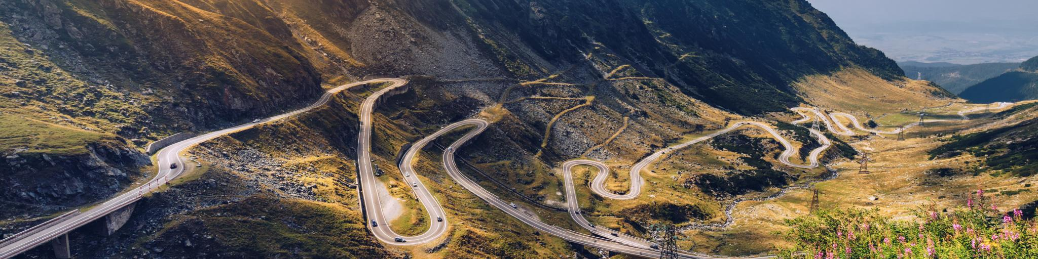 Top European road trips to drive - Transfagarasan pass