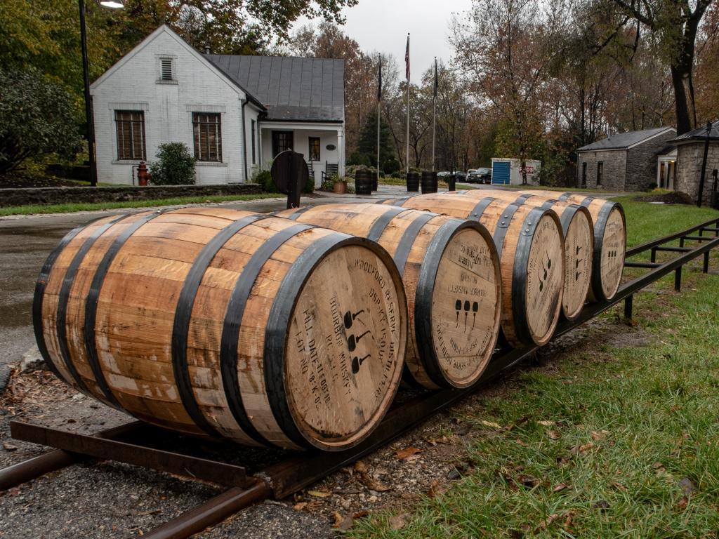 Woodford Reserve Distillery in Versailles, Kentucky