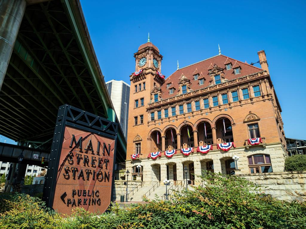 Main Street Station is one of many amazing architectural gems in Richmond, Virginia