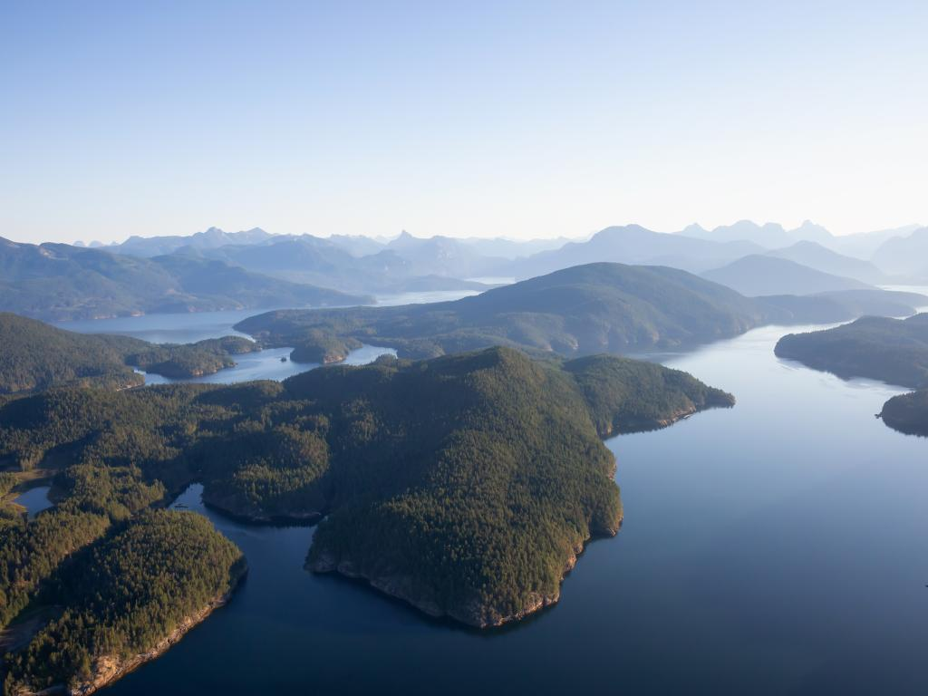 Nelson Island, Sunshine Coast, British Colombia, Canada