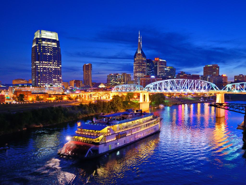 General Jackson Riverboat cruise along the Cumberland River in Nashville, TN