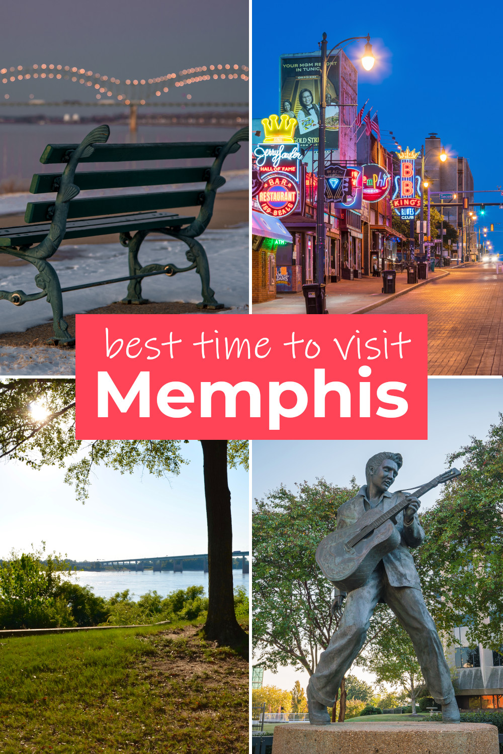 Best time to visit Memphis for the weather, to avoid the crowds, to see the music and save money on hotels