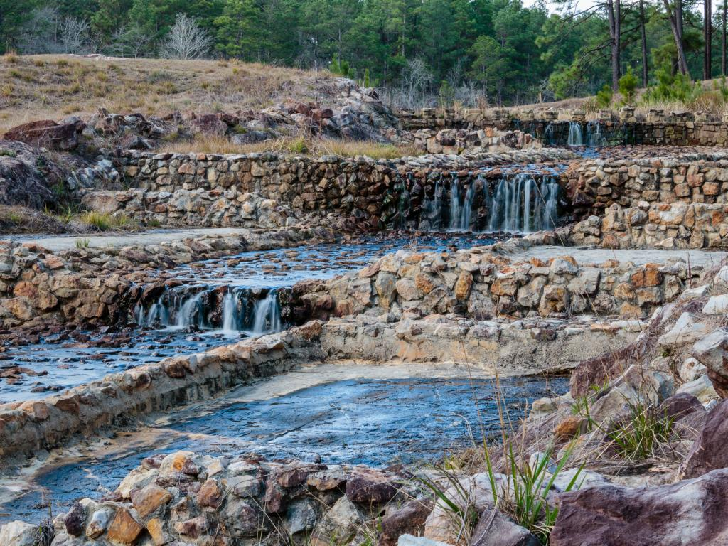 Boykin Springs are one of the sights in Angelina National Forest